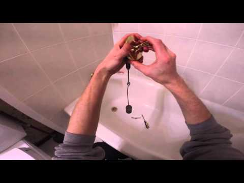 How To Adjust A Trip Lever Bathtub Drain