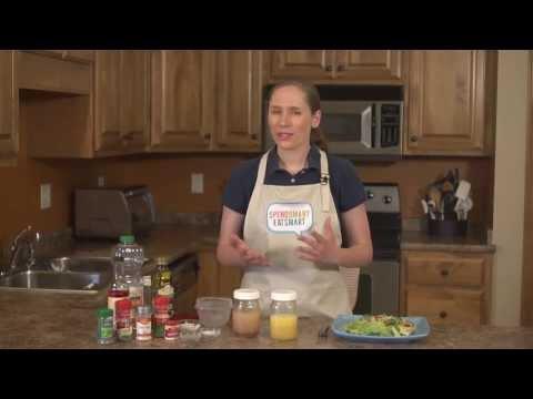 How to Make Homemade Salad Dressing