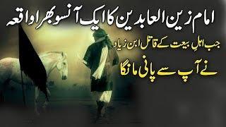 Waqya Imam Zain ul Abdeen ! Heart Touching Incident Of Imam Zain Ul Abdeen And Ibn-e-Zyad