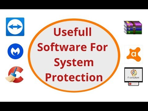 Install  useful software for system protection