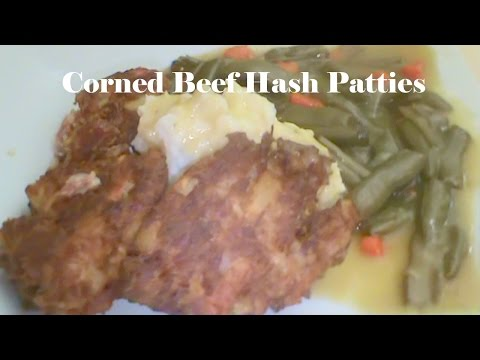 Cooking From Scratch:  Corned Beef Hash Patties