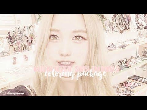 【 coloring package ❥ blonde hair, blue eyes, fair skin ୨♡୧ subliminal 】