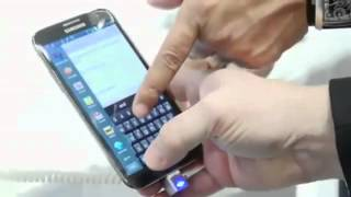 Samsung Galaxy Note 2, First Look   TechCrunch At CES 2013