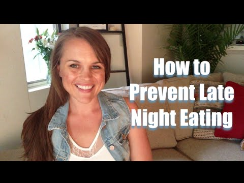 Late night eating and weight loss (eating for weight loss)