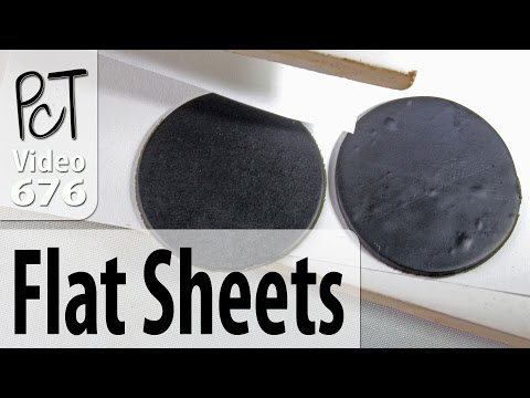 Baking Flat Polymer Pieces Perfectly Every Time