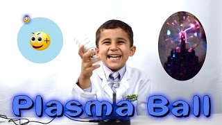 Download Kid Science - Plasma Ball - The Science of Plasma and how a Plasma ball works Video