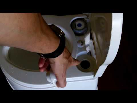 Emergency Toilet and Prepping- The Thetford Curve 550E