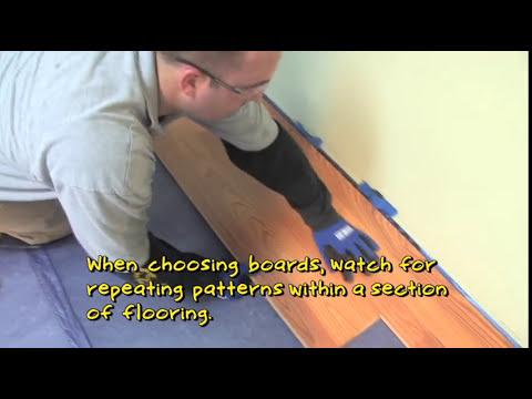 Flooring 101: How to Install Laminate Flooring (Angle-Angle Method)   Lumber Liquidators