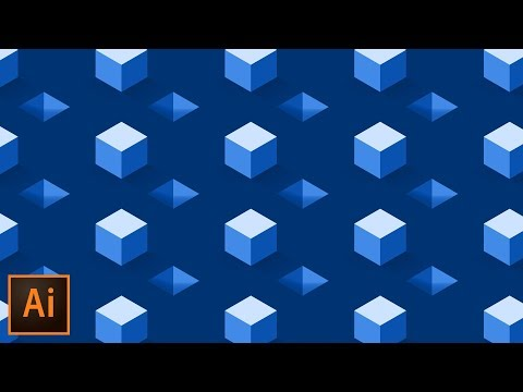 Isometric Cube Pattern Effect - Illustrator Tutorial