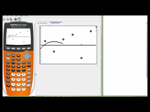 Finding a cubic and quartic regression on the graphing calcula