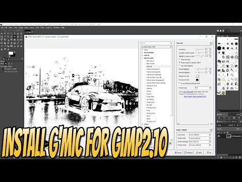 How To Install GMIC To GIMP 2.10 Add Special Filters   Getting Started With GIMP 2.10