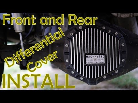 MAG-HYTEC Differential Cover Installation - RAM 2500 6.7L Cummins