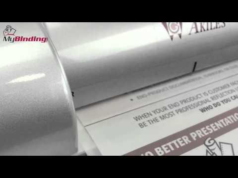 Akiles iLam 240 Pouch Laminator Demo - AIL240
