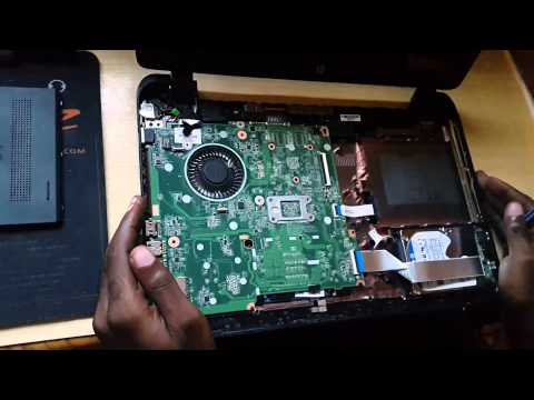 HP 15 Laptop hard drive replacement or SSD upgrade