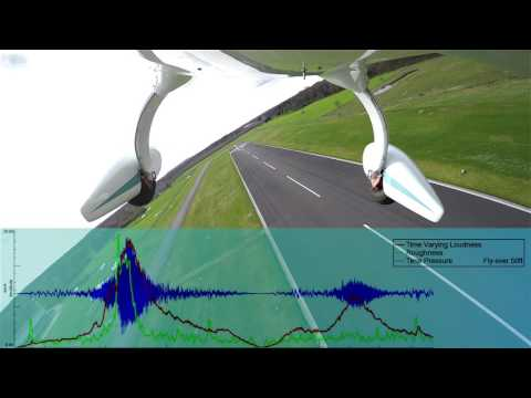 Reduce noise with electric propulsion - technical comparison