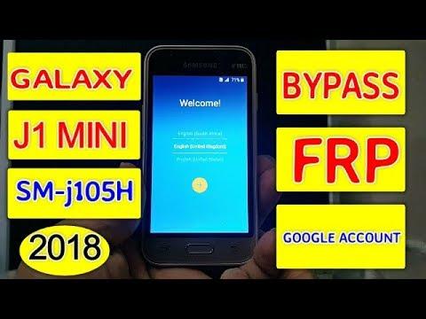 Samsung J1 Mini J105F J105H Frp Lock Google Account Bypass 100% Safe Method 2018