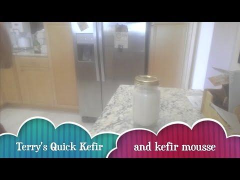 Terry's Quick Kefir (no straining), kefir cream cheese and Kefir Mousse.
