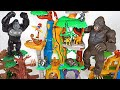 King Kong Broke Our Base Lion Guard Protect Us With A Great Training Lair Platset DuDuPopTOY