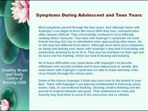 Asperger's Syndrome in Teens