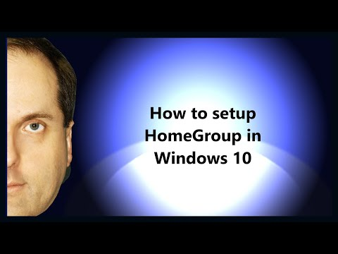 How to setup HomeGroup in Windows 10