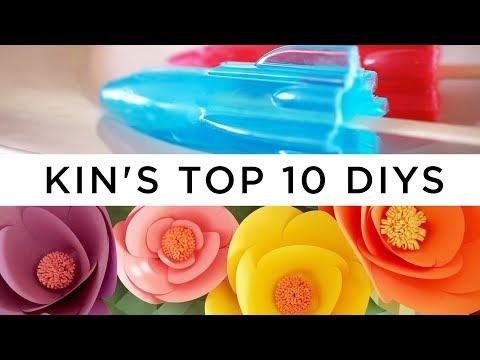 Kin's Top 10 DIY Crafts