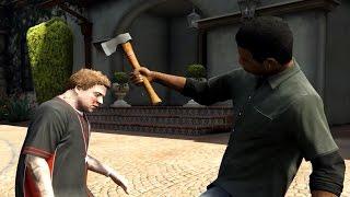 GTA 5 Lamar Kills Michael's Wife Amanda - PakVim net HD