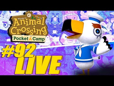 Gulliver Is Here! - Animal Crossing: Pocket Camp Live Stream