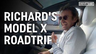 Richard Hammond goes on a road trip in a Tesla Model X