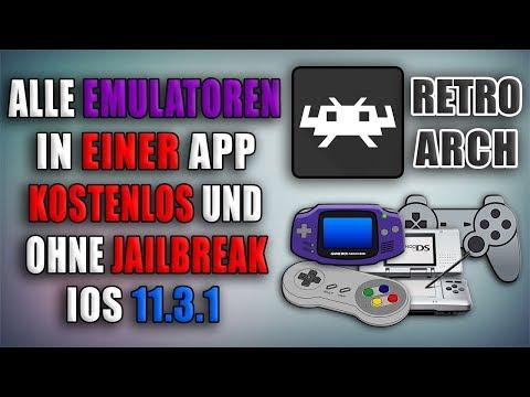 GBA, SNES, DS, PS1 und VIELES mehr installieren + ROMS auf [iOS 11.3.1]! RetroArch OHNE Jailbreak!