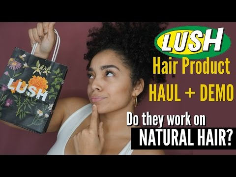 Lush Hair Product Haul | Review + Demo | Does It Work On My Hair?