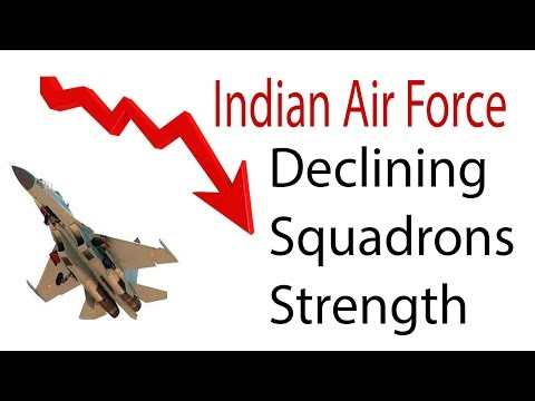 Indian Air Force Declining Squadron Strength: How to fix it