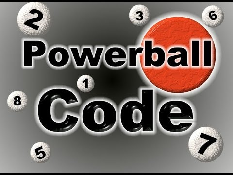 How to Win PowerBall using Code No 4's No 9's