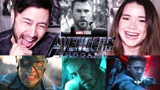Download AVENGERS: ENDGAME | Official Trailer Reaction! Video