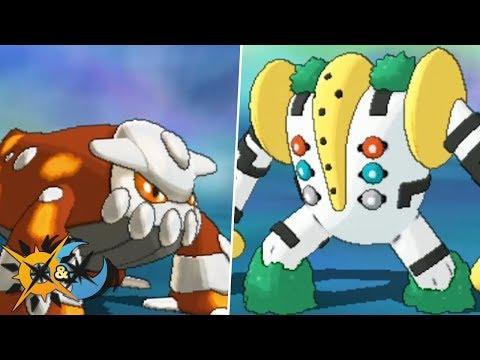How To Get Heatran and Regigigas in Pokémon Ultra Sun and Ultra Moon!