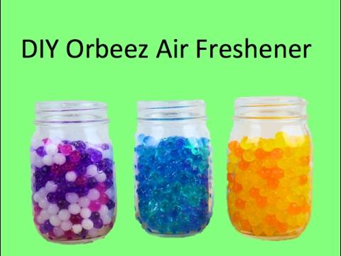 DIY Orbeez Air Freshener