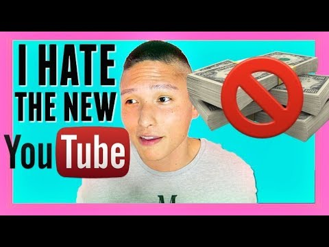 I HATE THE NEW YOUTUBE (not clickbait)