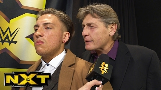 Pete Dunne gets a warning from William Regal: NXT Exclusive, Feb. 15, 2017