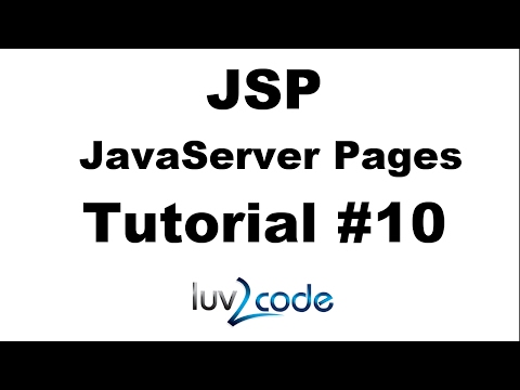 JSP Tutorial #10 - JSP Hello World