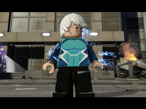 LEGO Marvel's Avengers - Quicksilver Free Roam Open World Gameplay (Manhattan)