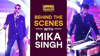 Mauja Hi Mauja/Saj Dhaj Ke  Behind The Scene | Mixtape Punjabi | Mika Singh