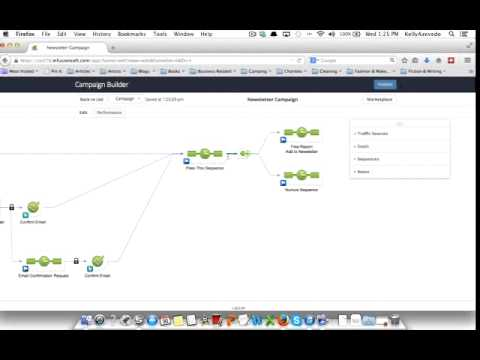 Build a basic follow up campaign in Infusionsoft
