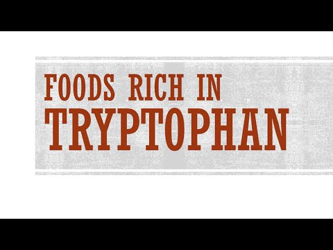 Foods Rich in Tryptophan - Foods High in Amino Acid - BENEFITS OF WELLNESS