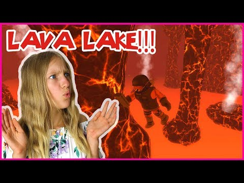Going Volcano Exploring in Lava Lake!