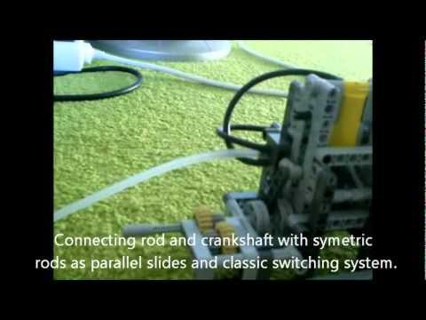 Lego Technic Single Cylinder Engine