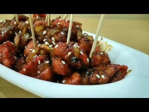 Babycorn n Gobi Manchurian/indo chinese starter recipe/गोभी मंचूरियन बनाने की विधि by roshniscuisine