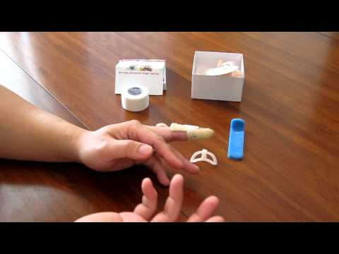 How to Take Care of Your Mallet Finger - Mallet Finger Splints