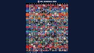 2019 NFL Schedule Released!