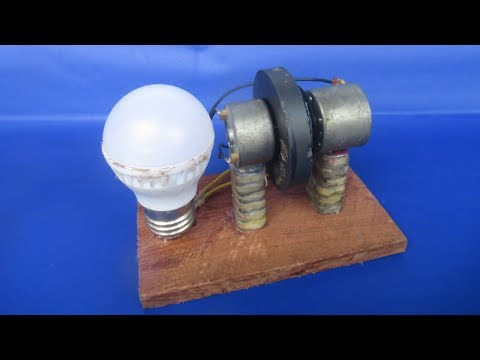 How to make free energy Running motor with magnets easy