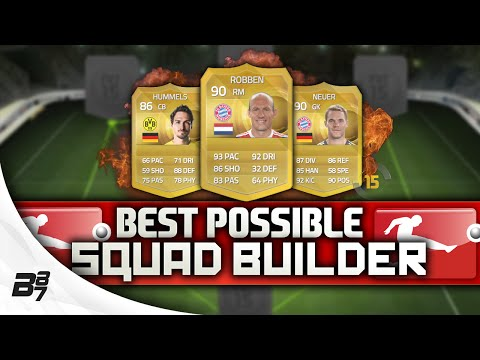 BEST POSSIBLE BUNDESLIGA TEAM! w/ ROBBEN | FIFA 15 Ultimate Team