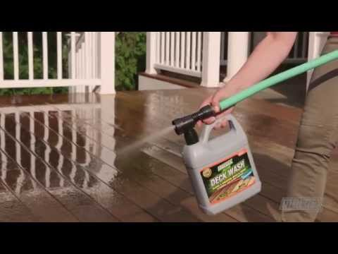 Moldex® Deck, Fence and House Wash
